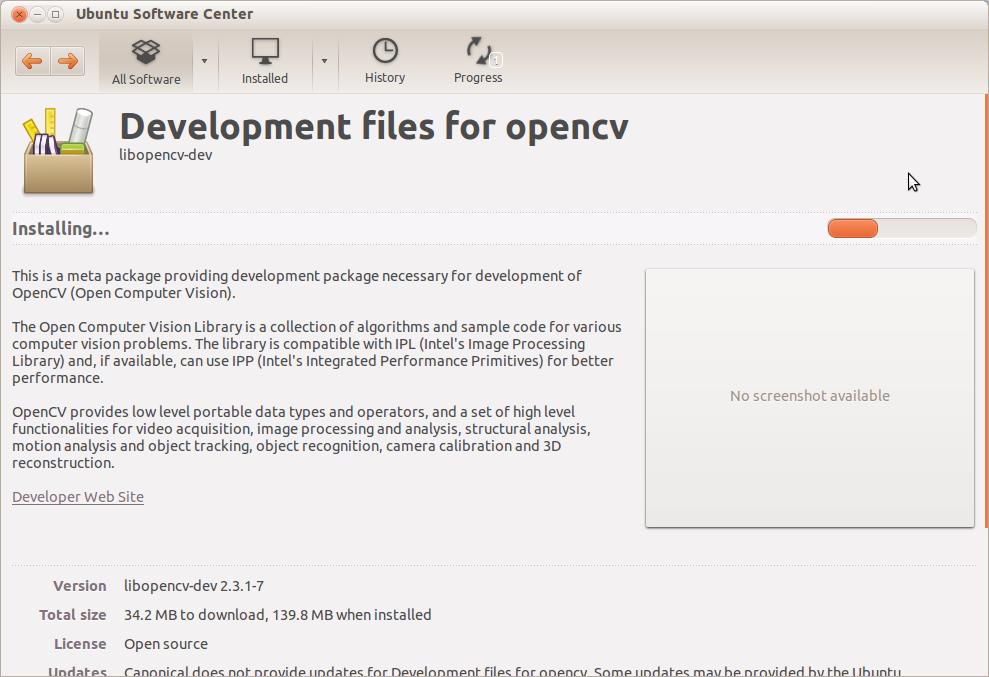 opencv_install