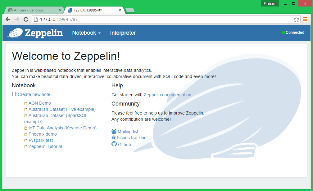 Interacting with Data on HDP using Apache Zeppelin and